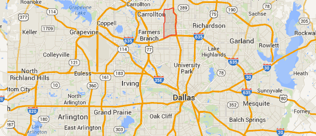 Addison Tx Map Map Of Addison Texas   Business Ideas 2013